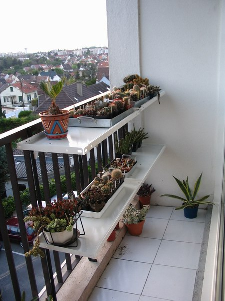 Support balcon - Comment fixer canisse balcon ...